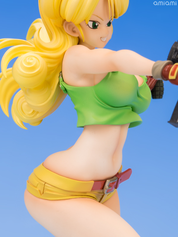 dragon ball gals dragon ball lunch blonde ver complete figure megahouse review amiami. Black Bedroom Furniture Sets. Home Design Ideas