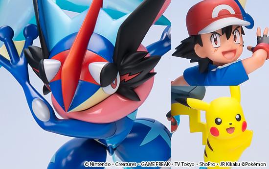 G E M  Series – Pokemon: Ash & Pikachu & Ash's Greninja