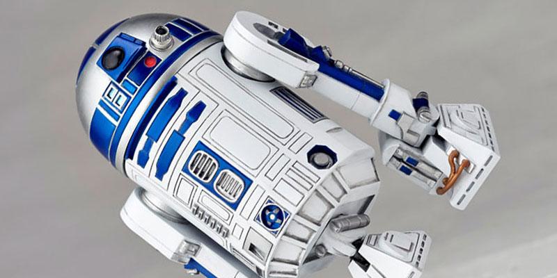 STAR WARS:REVO『スター・ウォーズ エピソード5 帝国の逆襲』 R2-D2 [海洋堂]