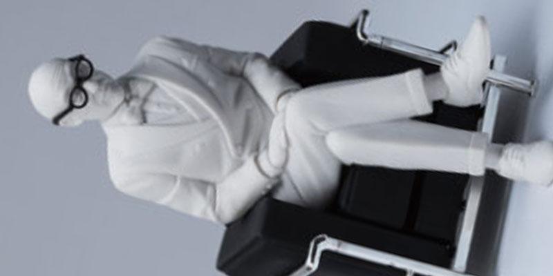 デザインインテリアコレクション フィギュアシリーズ グレート・マスター ル・コルビジェ [レアック・ジャパン]