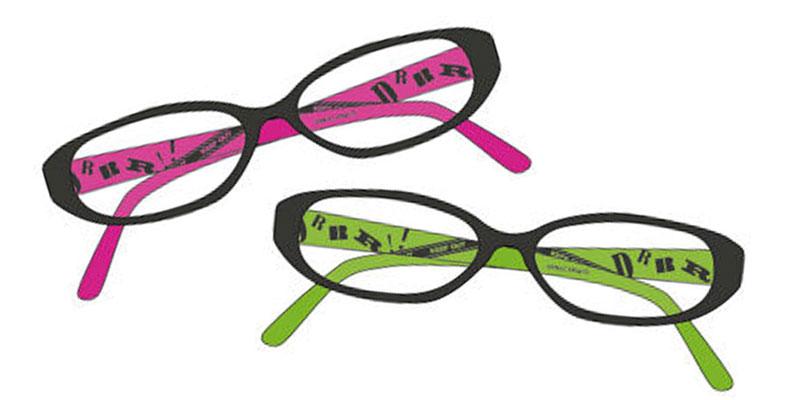 メガネ、ラブ!「デュラララ!!×2」折原臨也・平和島静雄をイメージしたPCメガネが発売決定