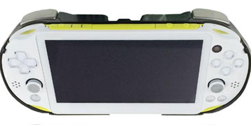 PS Vita(PCH-2000)用 L2/R2ボタン搭載 グリップカバー [上越電子工業]