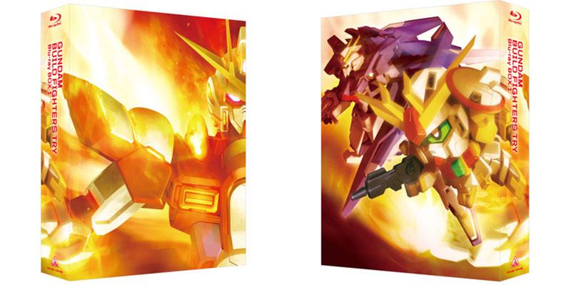 『ガンダムビルドファイターズトライ Blu-ray BOX 1』のボックスイラストが公開 『BOX 2』も6月に発売決定