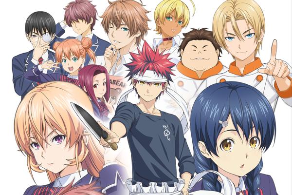 4月放映開始アニメ『食戟のソーマ』茅野愛衣さん・内田真礼さんら追加キャスト4名と新ビジュアルが発表