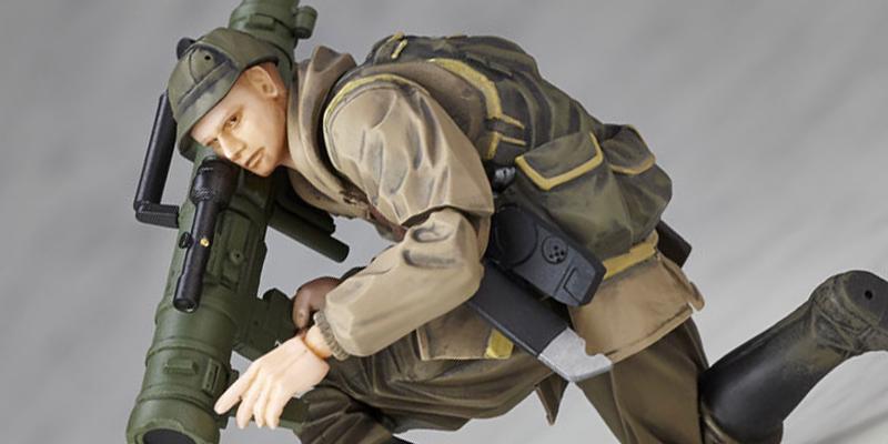 マイクロヤマグチ/リボルミニ『METAL GEAR SOLID V:THE PHANTOM PAIN』 ソ連軍兵士 [海洋堂]