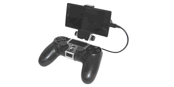 PS4コントローラー用スマホマウントホルダー [アクラス]