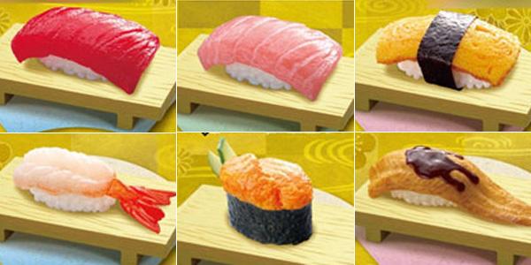 ぷちサンプル 特上にぎり寿司 [リーメント]