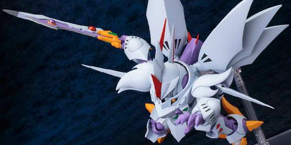 『スーパーロボット大戦』シリーズの人気機体「サイバスター」が2016年4月にデフォルメプラモデルとして2種類の仕様で発売