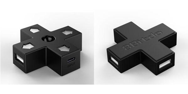 【新商品情報】8BITDO DPAD USB HUB [サイバーガジェット]