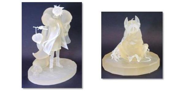 【トピックス】「第一回 3Dプリンターでフィギュア化イラスト・3Dモデルコンテスト」 3Dプリンターで作成した最優秀賞フィギュアが公開!