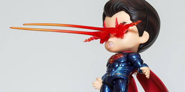【フォトアルバム】 GSC撮影会 ねんどろいど 『バットマン vs スーパーマン ジャスティスの誕生』 スーパーマン ジャスティス・エディション[グッドスマイルカンパニー]