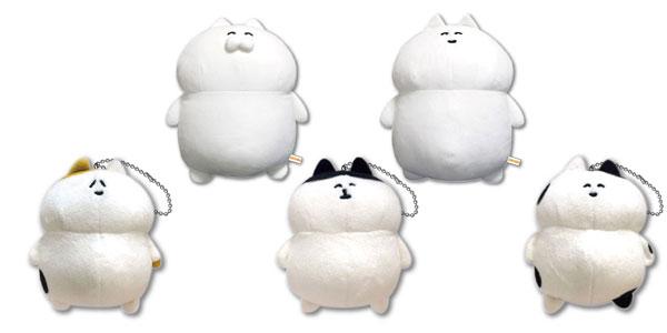 【新商品情報】ネコこのゴロ ぬいぐるみ ゴロニャン/ネコさん/ミケくん/くろみみ/うしくん [ツインクル]