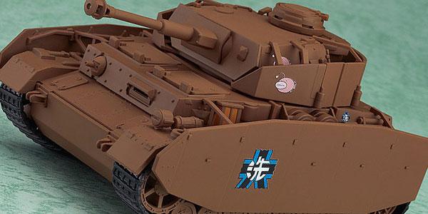 【新商品情報】ねんどろいどもあ『ガールズ&パンツァー』 V号戦車D型改(H型仕様) [グッドスマイルカンパニー]