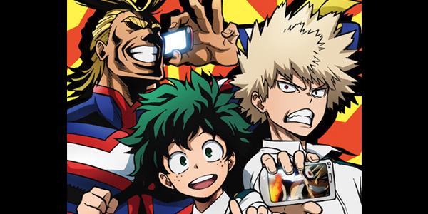 【トピックス】TVアニメ『僕のヒーローアカデミア』のキャンペーンが「アニメ放題」にて7月28日から開催!