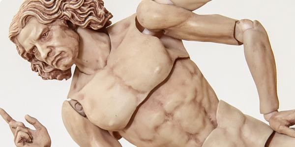 【フォトアルバム】GSC撮影会 figma『テーブル美術館』 ウィトルウィウス的人体図 [フリーイング]
