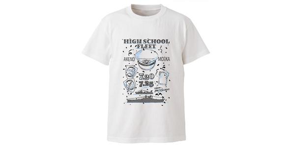 【トピックス】AMNIBUSより『ハイスクール・フリート』のキャラクター2人の誕生日を祝う「アニバーサリーラインアート Tシャツ」の受注販売開始!