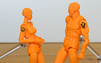 【フォトアルバム】 GSC撮影会 figma archetype next:he / she GSC 15th anniversary color ver. [グッドスマイルカンパニー]