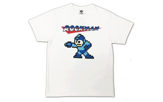 【トピックス】 8bitドットの「ロックマンTシャツ」が「ファッションセンターしまむら」に登場!