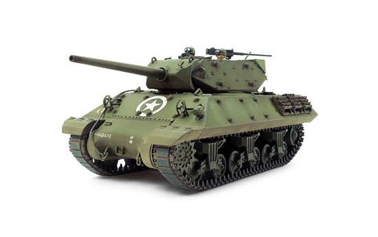 【新商品情報】1/35 ミリタリーミニチュアシリーズ No.350 アメリカ M10駆逐戦車(中期型) プラモデル [タミヤ]