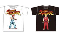 【トピックス】『ストリートファイターV』&『ストリートファイター』シリーズの歴史を辿るTシャツが登場!