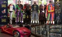 【イベントリポート】バットマン100%ホットトイズ「映画で実際使用されたコスチュームなど会場内の展示編」