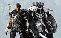 【フォトアルバム】『ベルセルク』 Skull Knight (髑髏の騎士) / ガッツ(黒い剣士) 1/6 可動フィギュア[スリー・ゼロ]