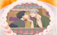 【トピックス】『ユーリ!!! on ICE』クリスマス限定デザインのプリントケーキ&マカロン登場!