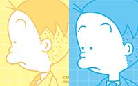 【トピックス】植田まさしさん描きおろし4コマ漫画到着&パッケージ公開!アニメ『かりあげクン』DVD ほんにゃらBOX 12月21日発売