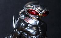 【フォトアルバム】 コトブキヤ撮影会 ARTFX+ DC UNIVERSE ブラックマンタ 1/10 完成品フィギュア[コトブキヤ]