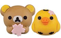 """【トピックス】""""桜""""を持った「リラックマ」の和菓子が「キイロイトリ」と一緒になってローソン限定で登場!"""