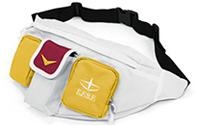 【トピックス】『機動戦士ガンダム』「ガンダム」「シャア専用ザク」「ザク」腰部ユニットをモチーフにしたユニークな「ウエストバッグ」が登場!