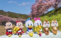 """【トピックス】アウトドアにも連れていこう!いろいろなポーズで""""ちょっこり""""できる「ディズニーキャラクター/ちょっこりさん」が4月27日発売!"""