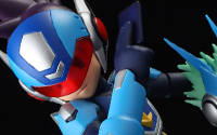 【トピックス】4インチネルシリーズに『流星のロックマン』の「シューティングスター・ロックマン」が登場!