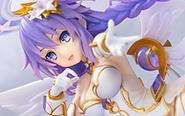 【レビュー】『四女神オンライン CYBER DIMENSION NEPTUNE』 パープルハート 完成品フィギュア[アスキー・メディアワークス]