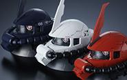 """【トピックス】ザクヘッド第2弾""""『機動戦士ガンダム』EXCEED MODEL ZAKU HEAD 2""""が登場!"""