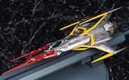 【フォトアルバム】ヴァリアブルアクション Hi-SPEC 『宇宙戦艦ヤマト2202 愛の戦士たち』 零式52型空間艦上戦闘機コスモゼロα1[メガハウス]