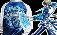 【トピックス】劇場版『遊☆戯☆王』より「ブルーアイズ・オルタナティブ・ホワイト・ドラゴン」が豪華に刺繍されたスカジャンが登場!