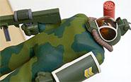 【フォトアルバム】『太陽の牙 ダグラム』 COMBAT ARMORS MAX EX-04 1/72 ソルティック H8 ラウンドフェイサー 軽量型 コンバーチブルキット[マックスファクトリー]