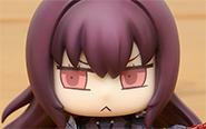 【フォトアルバム】ねんどろいどもあ 『マンガで分かる!Fate/Grand Order』 とりかえっこフェイス(ランサー/スカサハ)[グッドスマイルカンパニー]