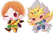 【トピックス】キラキラのデフォルメタッチ!「ゆめんず! アクリルキーホルダー KING of PRISM-PRIDE the HERO-」が登場!
