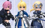 【フォトレビュー】デスクトップアーミー 『Fate/Grand Order』 [メガハウス]