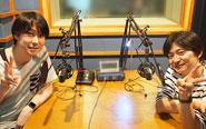 【トピックス】本日4月13日(金)より第1回配信スタート!「鈴村&下野の帰ってきた! うた☆プリ放送局」からコメントが到着!