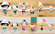 【フォトレビュー】ユーリ!!! on ICE × Sanrio characters トレーディングフィギュア 6個入りBOX[オランジュ・ルージュ]