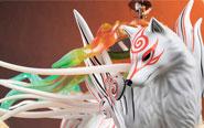 【トピックス】ファースト4フィギュア新作!PS2用ゲーム『大神』より「白野威(シラヌイ)」と「イッシャク」が登場!