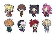 【トピックス】『Fate/EXTRA Last Encore』キュートにデフォルメされたキャラクターたちのラバーストラップが登場!