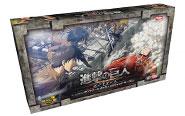 【トピックス】『進撃の巨人』を原作とした本格的協力型ボードゲーム 「進撃の巨人 ボードゲーム」日本語版が9月上旬発売!