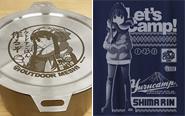 【トピックス】『ゆるキャン△』より、志摩リンがデザインされた「キャンプごはんセット」など新商品が発売決定!