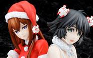 【トピックス】『シュタインズ・ゲート ゼロ』から、牧瀬紅莉栖と椎名まゆりがクリスマスVer.で立体化!