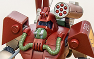 【フォトレビュー】COMBAT ARMORS MAX16 1/72『太陽の牙 ダグラム』 アビテート T10B ブロックヘッド 強化型ザック装着タイプ[マックスファクトリー]