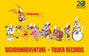【トピックス】コラボカフェ「デジモンアドベンチャー 20th Anniversary × TOWER RECORDS CAFE ~集まれ!選ばれし子ども達~」が開催決定!